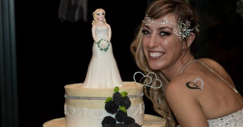 იტალიელმა ქალმა საკუთარ თავზე იქორწინა