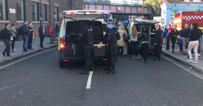 ლონდონის მეტროში აფეთქება მოხდა