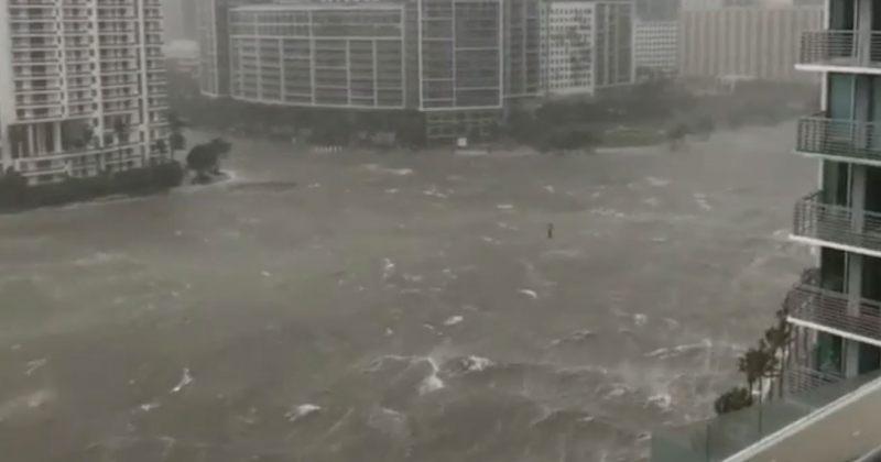 ქარიშხალმა ირმამ მაიამიში შტორმული წყალდიდობა გამოიწვია [ვიდეო]