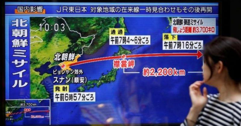 ჩრდილოეთ კორეამ იაპონიის თავზე რაკეტა გაუშვა, რომელსაც გუამამდე მიღწევა შეუძლია