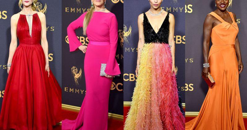მსახიობების ჩაცმულობა Emmys 2017- ზე