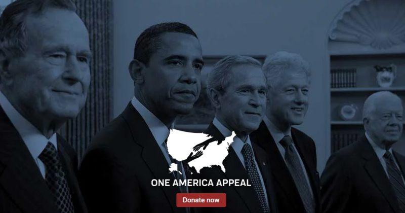 ამერიკის ხუთი ყოფილი პრეზიდენტი ქარიშხალ ჰარვისა და ირმას წინააღმდეგ გაერთიანდა