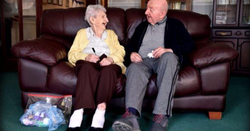 98 წლის დედა მოხუცთა თავშესაფარში იცხოვრებს, რათა 80 წლის შვილს მოუაროს