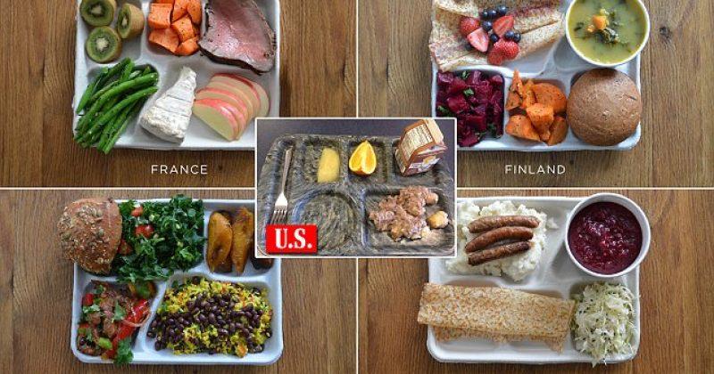 რას ჭამენ ბავშვები სკოლაში მსოფლიოს სხვადასხვა ქვეყანაში