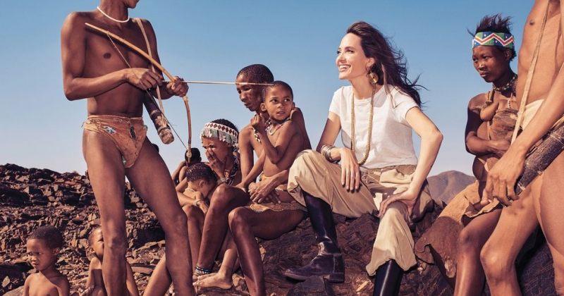 ანჯელინა ჯოლის ახალი ფოტოსესია Harper's Bazaar-თვის