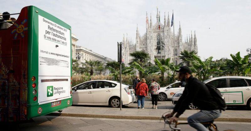 იტალიაში ლომბარდიისა და ვენეტოს რეგიონებში ავტონომიის რეფერენდუმი ჩატარდება