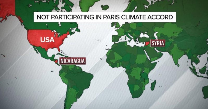 სირია პარიზის კლიმატის შეთანხმებას შეუერთდება