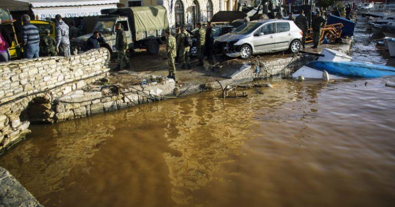 საბერძნეთში ძლიერი წვიმის გამო ქალაქები დაიტბორა, დაღუპულია 5 ადამიანი