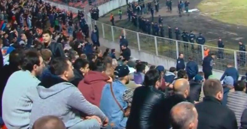 ქართული მარში ქუთაისში სტადიონთან აქციას მართავს, ადგილზე სპეცრაზმია მობილიზებული