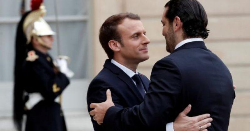 ლიბანის გადამდგარი პრემიერმინისტრი პარიზში ემანუელ მაკრონს შეხვდა