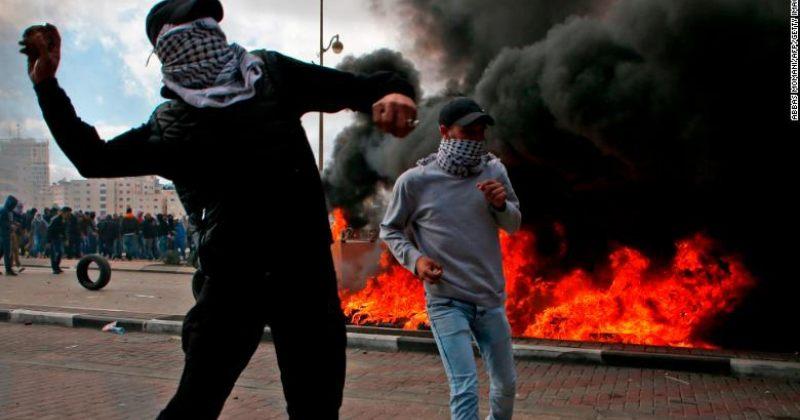 ჰამასი პალესტინელებს ამბოხებისაკენ მოუწოდებს, დაჭრილია 31 ადამიანი