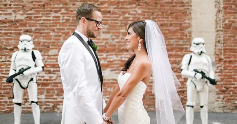 წყვილმა STAR WARS-ის ქორწილი გადაიხადა