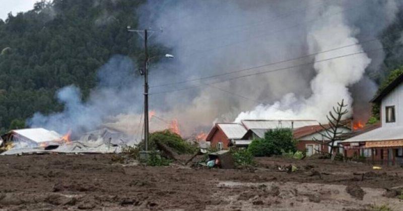 ჩილეში ჩამოწოლილმა მეწყერმა სოფელი გაანადგურა, დაღუპულია 5 ადამიანი