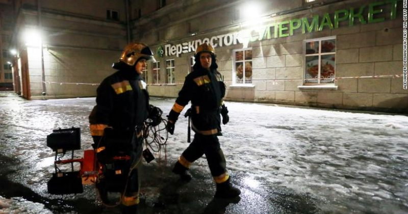პუტინი: სანქტ-პეტერბურგში სუპერმარკეტის აფეთქება ტერორისტული თავდასხმაა