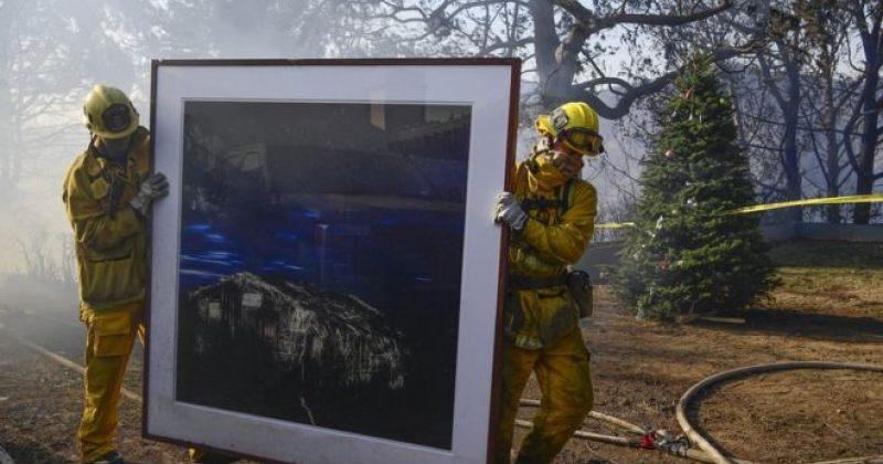 კალიფორნიაში ხანძარი ბელ აირის პრესტიჟულ უბანს და მუზეუმს ემუქრება
