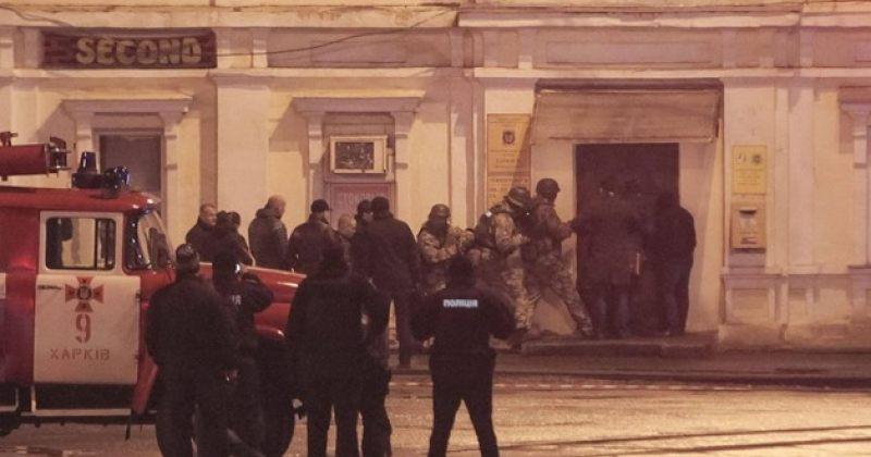 ხარკოვის ფოსტის შენობიდან 11 მძევალი გაათავისუფლეს, თავდამსხმელი დაკავებულია