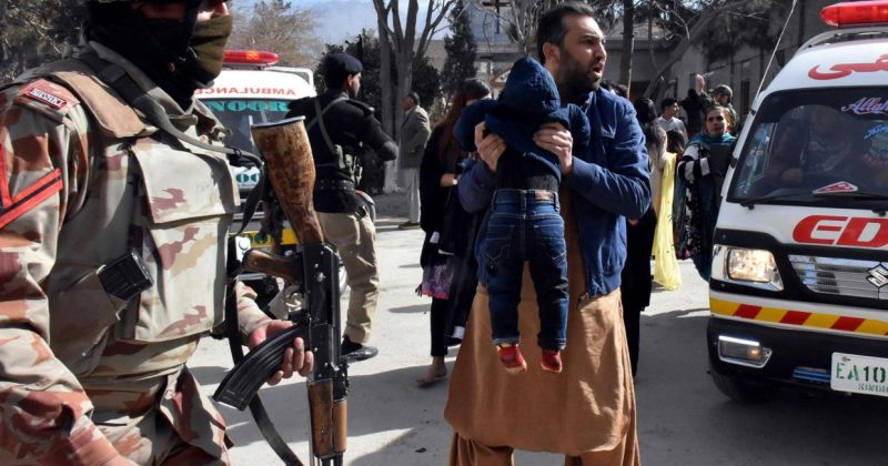 პაკისტანში ქრისტიანულ ეკლესიაზე თავდასხმას 5 ადამიანი ემსხვერპლა