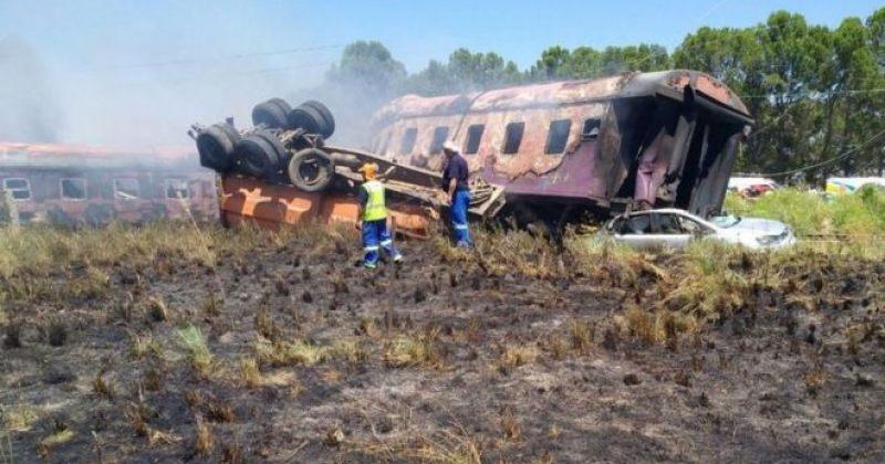სამხრეთ აფრიკაში მატარებელი სატვირთოს შეეჯახა, გარდაცვლილია 4 ადამიანი