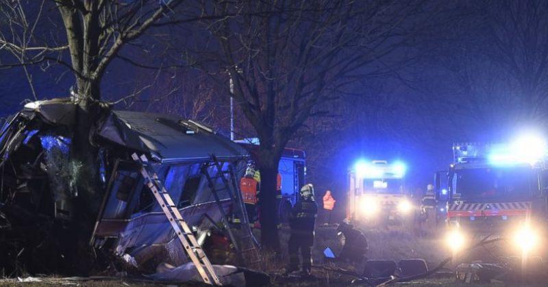 პრაღაში ავტოავარიას 3 ადამიანის სიცოცხლე ემსხვერპლა, დაშავდა 48