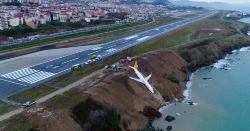 თურქეთში პეგასუსის თვითმფრინავი საფრენი ბილიკიდან შავი ზღვის სანაპიროზე გადავარდა
