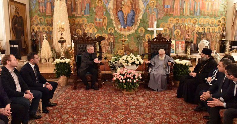 ვოლსკი პატრიარქს: საზოგადოების ძალიან დიდი ნაწილის სიყვარული მოგიტანეთ
