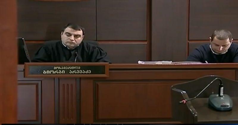 მოსამართლე, ვინც სააკაშვილს შეწყალებისთვის პატიმრობა მიუსაჯა, უვადოდ არ დაინიშნება