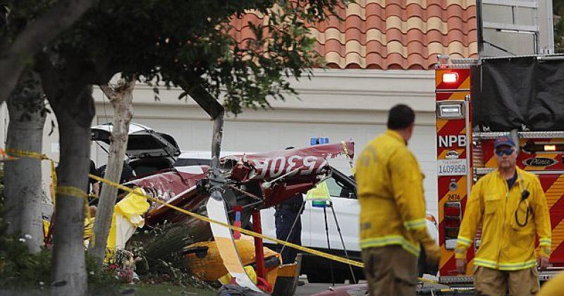 კალიფორნიაში ვერტმფრენი საცხოვრებელ სახლს დაეცა, დაიღუპა 3 ადამიანი