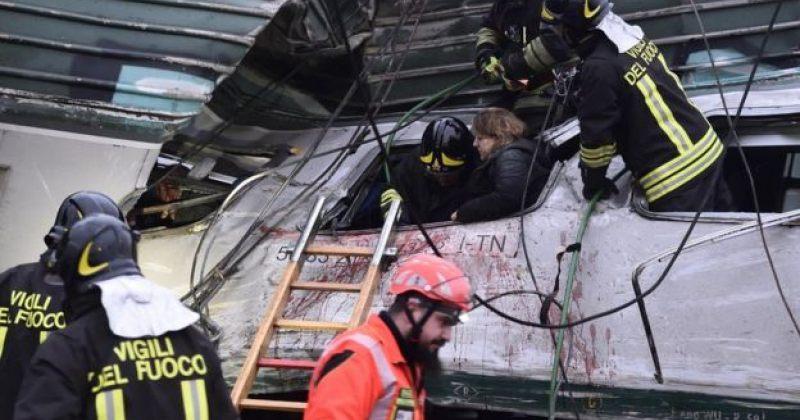 მილანში მატარებლების შეჯახების შედეგად სულ მცირე 3 ადამიანი დაიღუპა და 10 დაშავდა