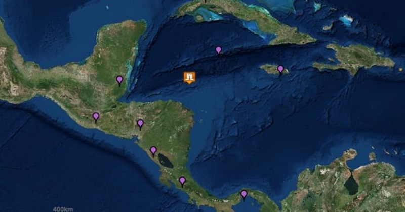 კარიბის ზღვაში 7.6 მაგნიტუდის მიწისძვრა დაფიქსირდა