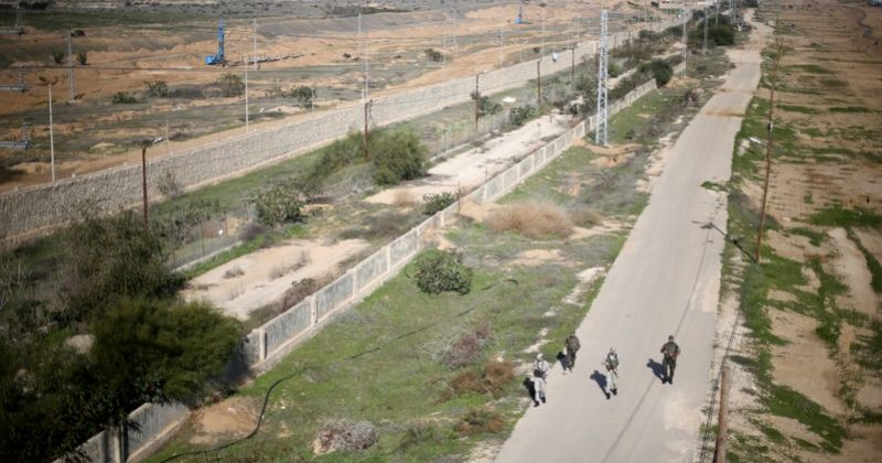 ისრაელმა 1.5 კმ სიგრძის გვირაბი გაანადგურა, რომელიც ღაზას ეგვიპტესთან აერთებდა