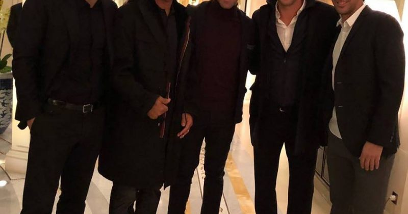 ფიგუ, კაფუ, დელ პიერო, შევჩენკო და რაული - ფეხბურთის ვარსკვლავები ერთად