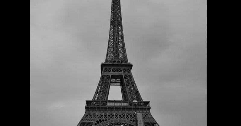 პარიზში ამინდის გაუარესების გამო ეიფელის კოშკი ტურისტებისთვის დროებით დახურეს