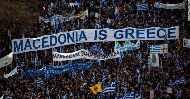 საბერძნეთში მაკედონიის საკითხზე გამართულ აქციაზე 140,000 ადამიანი გამოვიდა
