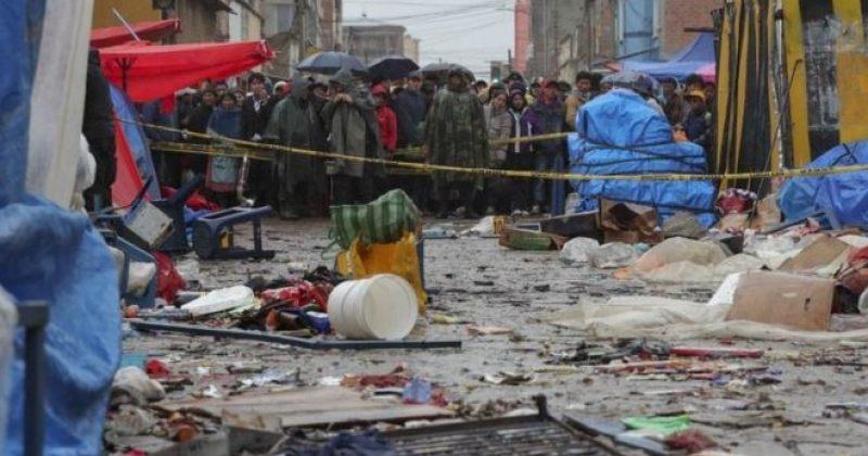 ბოლივიის კარნავალზე გაზის ბიდონის აფეთქებას 8 ადამიანი ემსხვერპლა