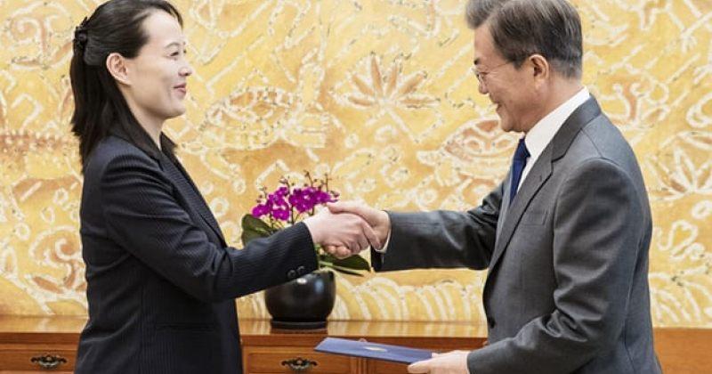კიმ ჩენ ინმა სამხრეთ კორეის პრეზიდენტი ფხენიანში მიიწვია
