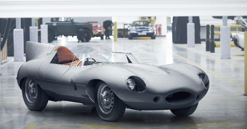 Jaguar-ი ლეგენდარულ D-Type-ს ხელახლა გამოუშვებს