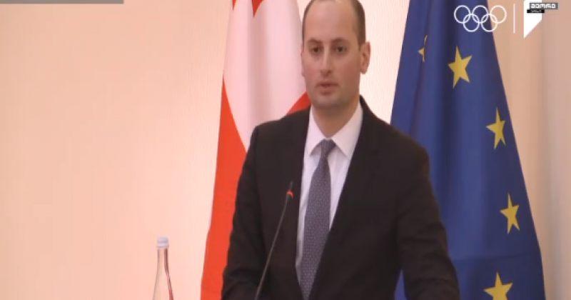 ჯანელიძე: უკრაინის შემოთავაზებამდეცვმუშაობდით რუსეთის წინააღმდეგ სანქციებზე
