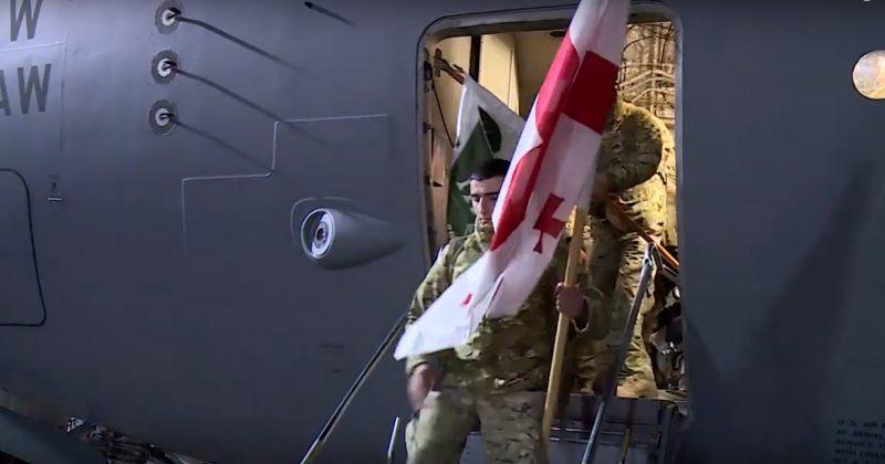 6-თვიანი მისიის შემდეგ, III ბრიგადის ასეული ავღანეთიდან საქართველოში დაბრუნდა