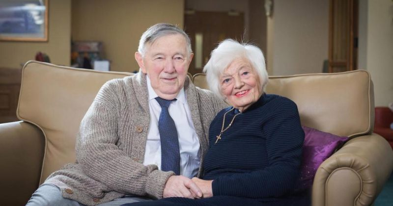 წყვილის მე-60 ვალენტინობა მოხუცთა თავშესაფარში
