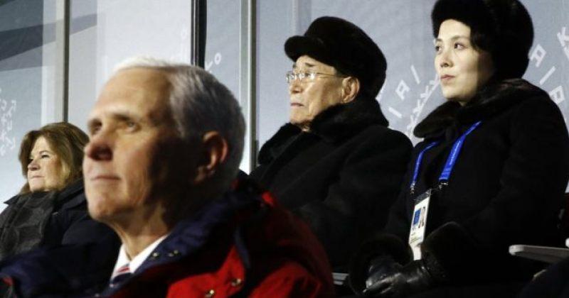 ოლიმპიადაზე ჩრდილოეთ კორეის დელეგაციამ მაიკ პენსთან შეხვედრაზე უარი თქვა