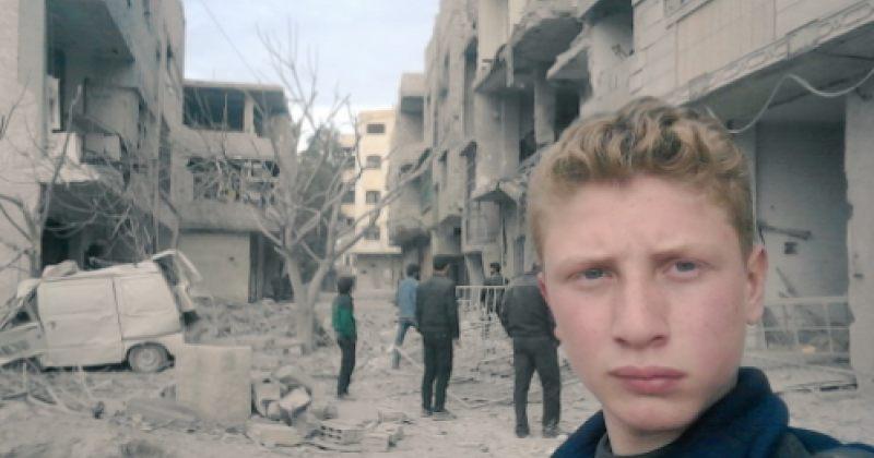 15 წლის ბიჭი აღმოსავლეთ ღუტაში არსებულ მდგომარეობას მსოფლიოს სელფებით აჩვენებს