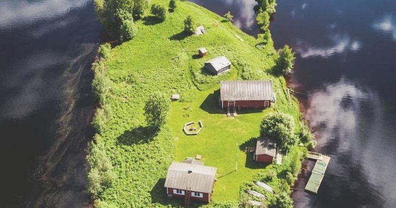 ფინეთის კუძულის კოტისაარის ცვლილება სეზონების მიხედვით - სურათები