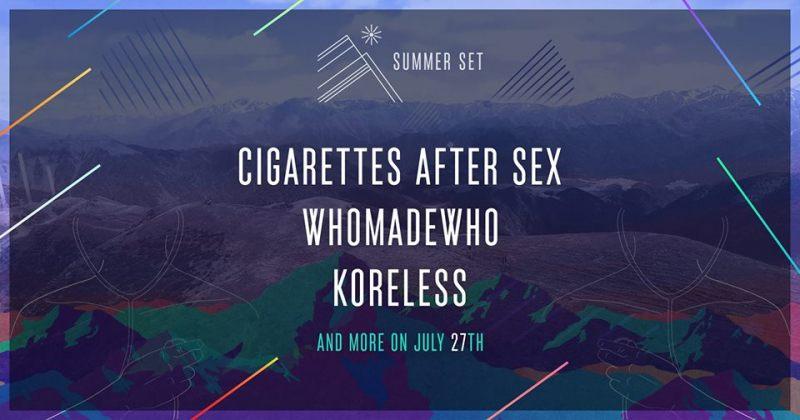 ზაფხულში თბილისში კონცერტსCigarettes After Sex, WhoMadeWho და Koreless გამართავენ