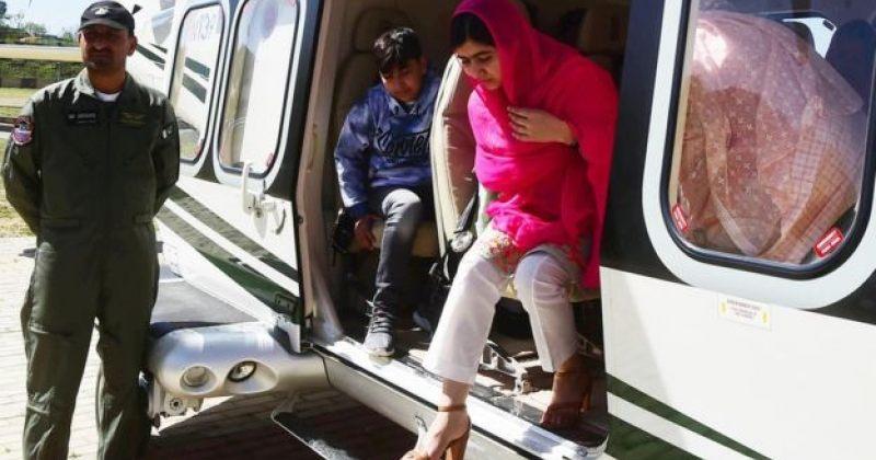 თავდასხმიდან 5 წლის შემდეგ მალალა იუსუფზაი პაკისტანში პირველად ჩავიდა