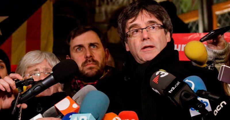 კატალონიის ყოფილი პრეზიდენტი გერმანიიდან ბელგიაში დაბრუნდა