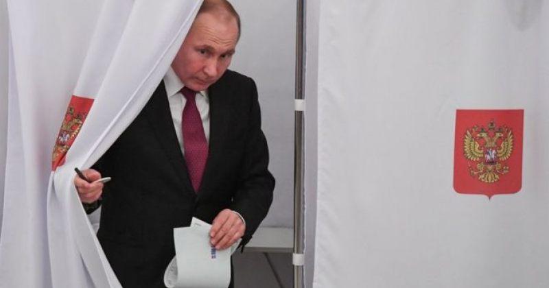 რუსეთში დღეს საპრეზიდენტო არჩევნები იმართება