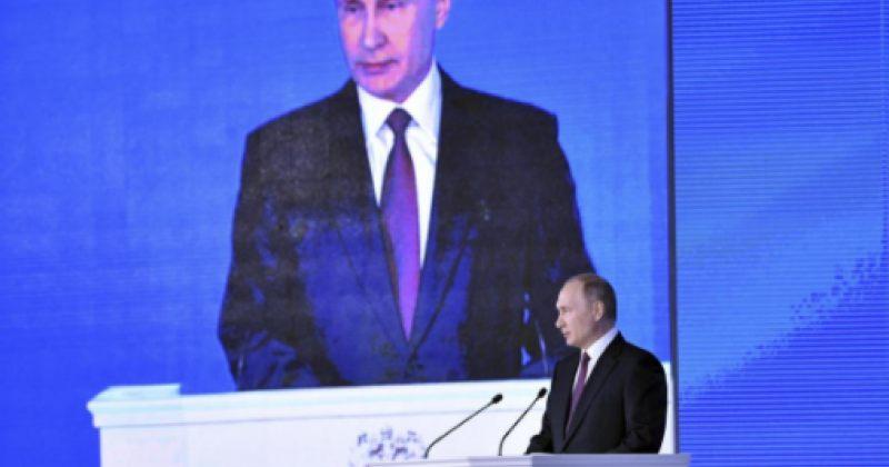პუტინის თქმით რუსეთმა 2017 წელს ახალი ატომური იარაღი გამოსცადა