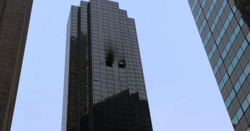"""""""ტრამპ თაუერში"""" გაჩენილი ცეცხლის შედეგად ერთი ადამიანი დაიღუპა, არიან დაშავებულებიც"""