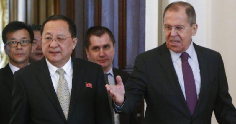 ჩრდილოეთ კორეის საგარეო საქმეთა მინისტრი მოსკოვში სერგეი ლავროვს შეხვდა