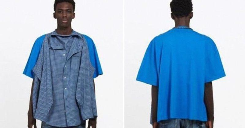 Balenciaga-ს უცნაური პერანგი-მაისური $1290-ად და რეაქციები ინტერნეტში [გალერეა]